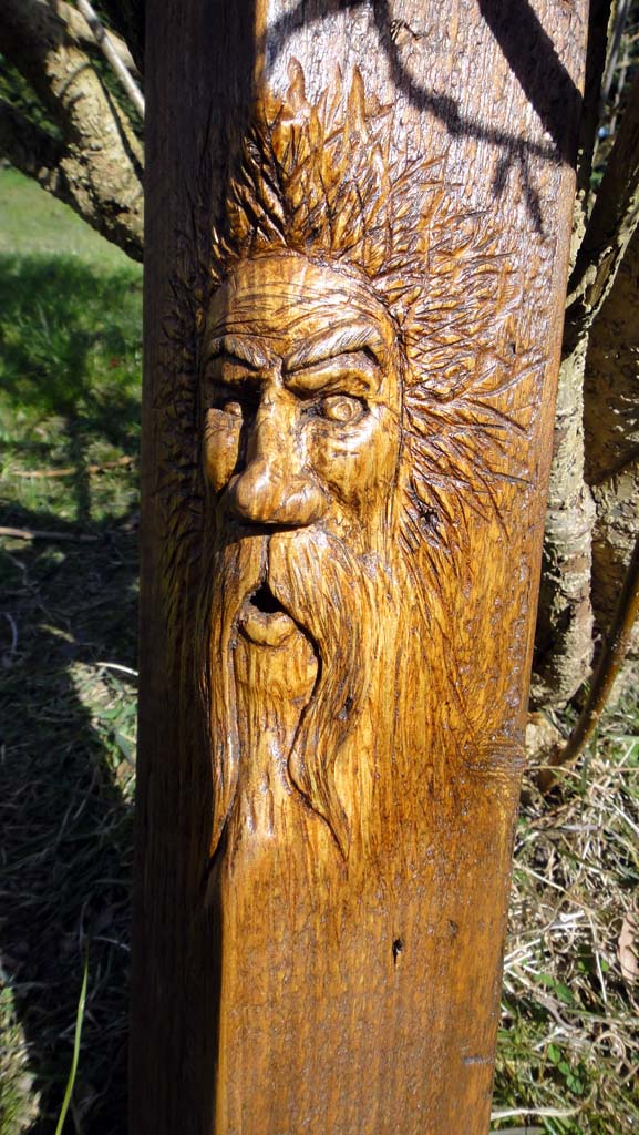 Chainsaw Artis Gallery | Wood spirit carving