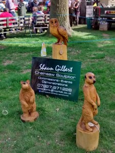 Chainsaw Sculptures at the Plant Fair, Kings Lynn Norfolk | Events: 20th May 2016